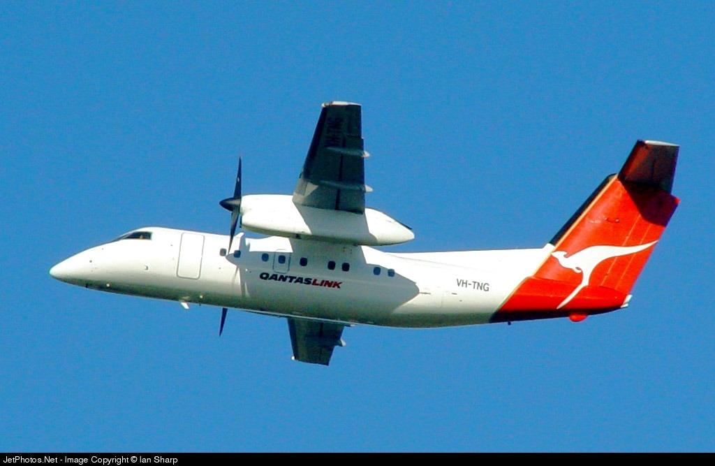 VH-TNG - Bombardier Dash 8-102 - QantasLink (Sunstate Airlines)