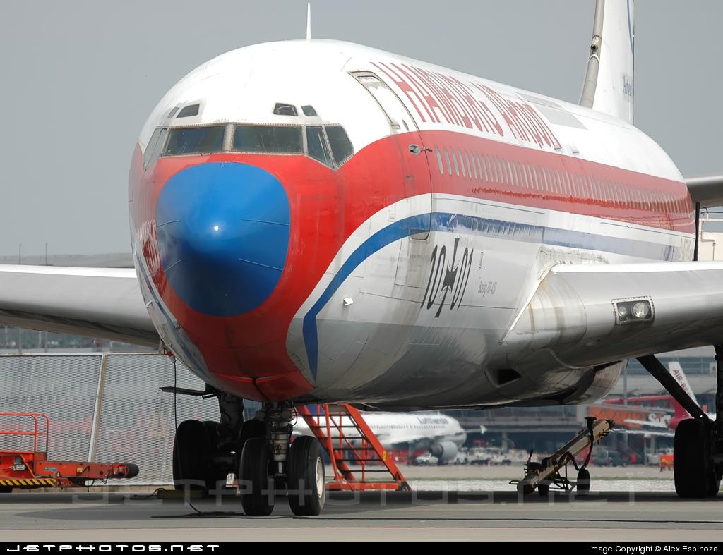 D-AFHG - Boeing 707-430 - Hamburg Airport