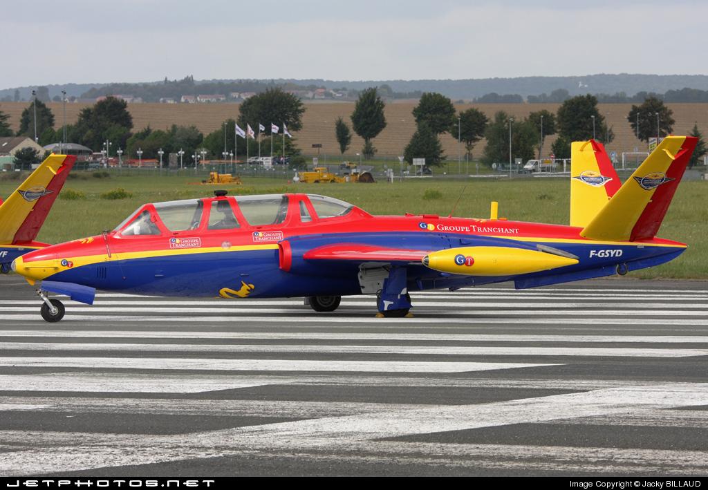 F-GSYD - Fouga CM-170 Magister - Private