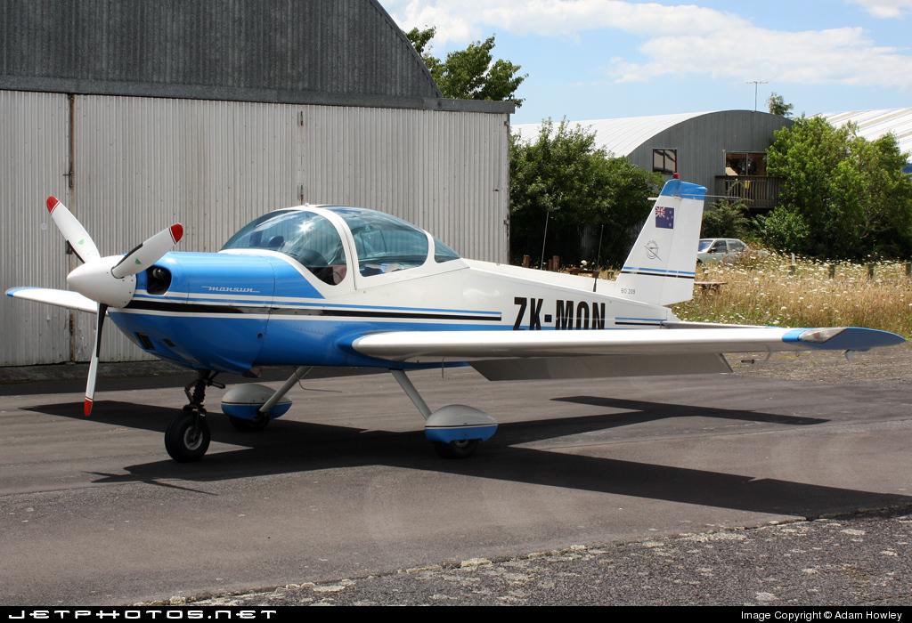 ZK-MON - Bolkow Bo.209 Monsun 150RV - Private