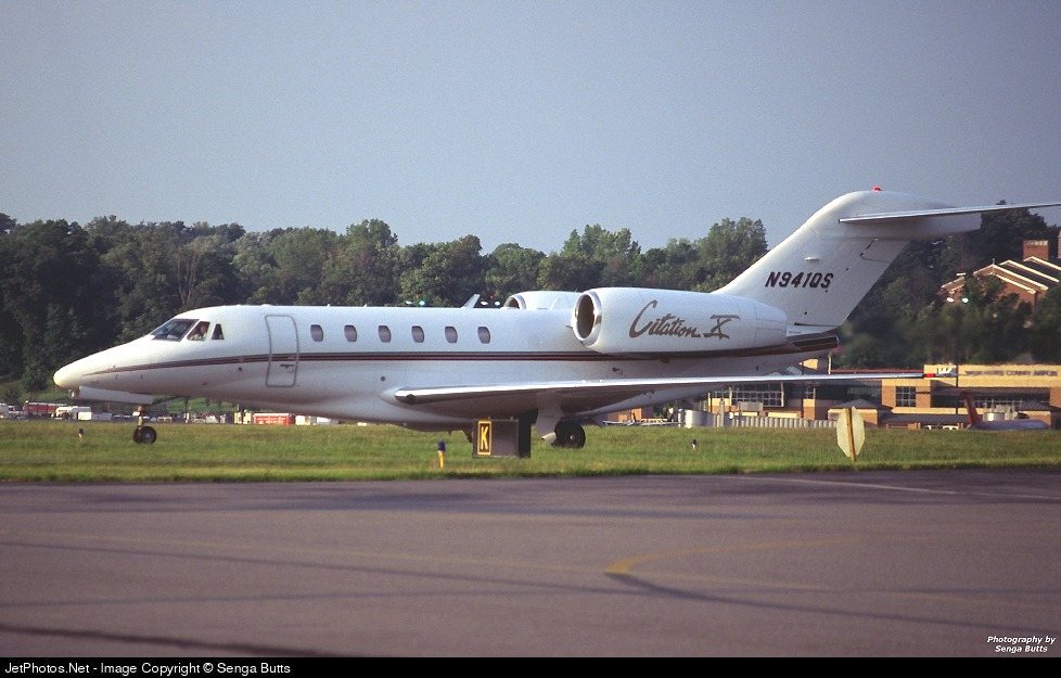 N941QS - Cessna 750 Citation X - Private