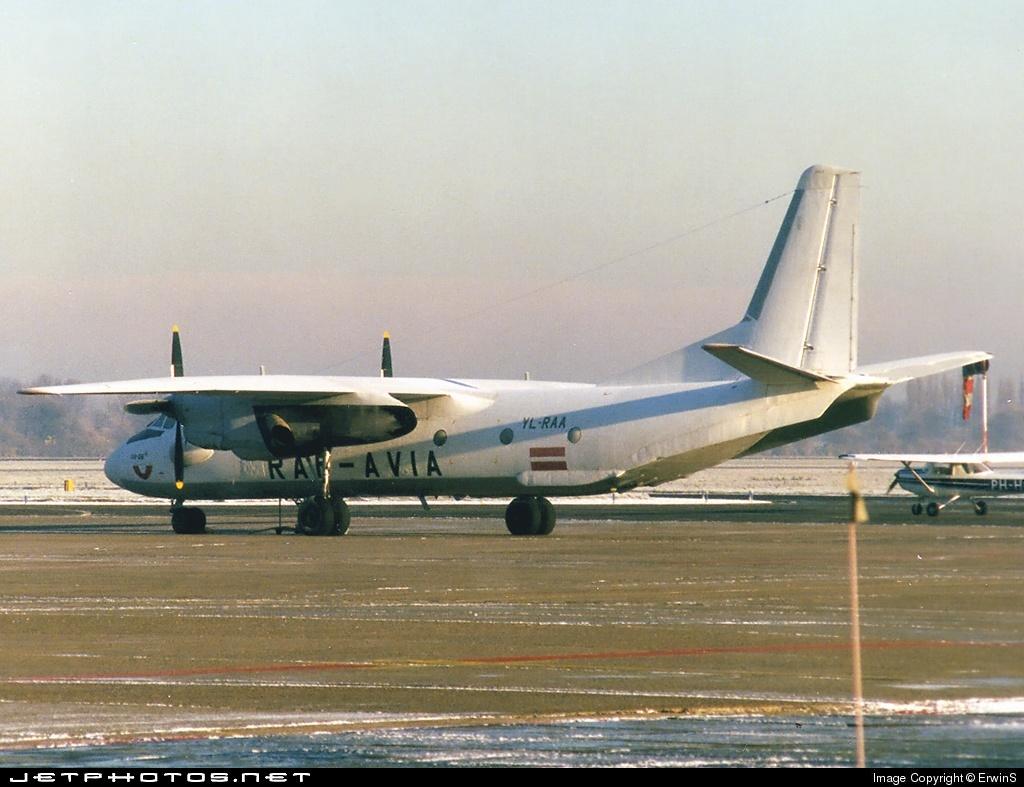 YL-RAA - Antonov An-26 - Raf-Avia Airlines