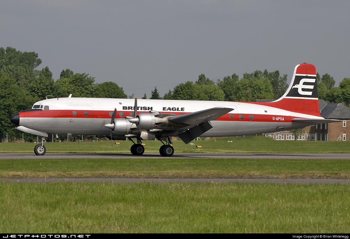G-APSA - Douglas DC-6A Liftmaster - Air Atlantique