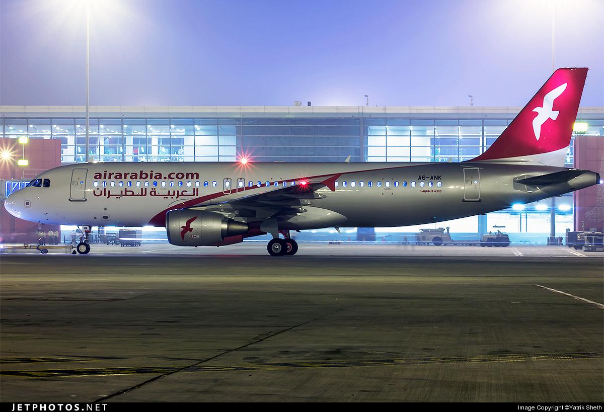 A6-ANK - Airbus A320-214 - Air Arabia