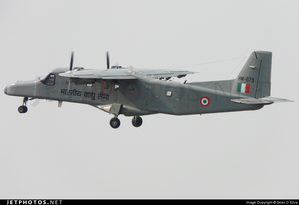 HM673 - Dornier Do-228-201 - India - Air Force