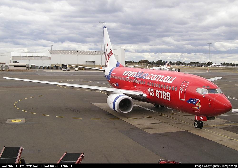 VH-VBD - Boeing 737-7Q8 - Virgin Blue Airlines