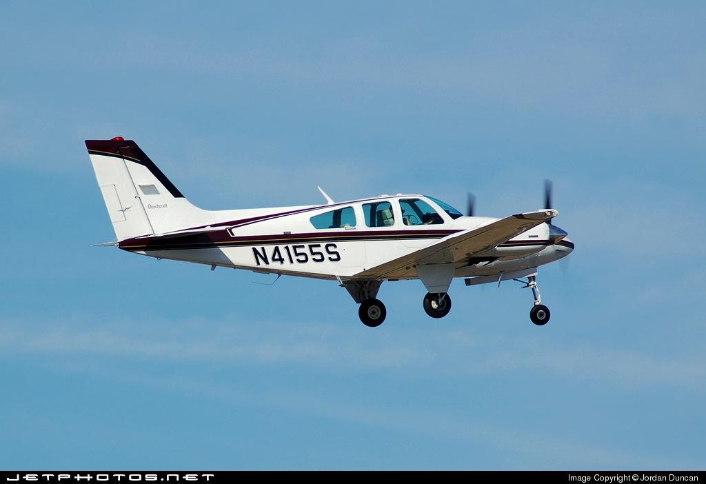 N4155S - Beechcraft 95-E55 Baron - Private