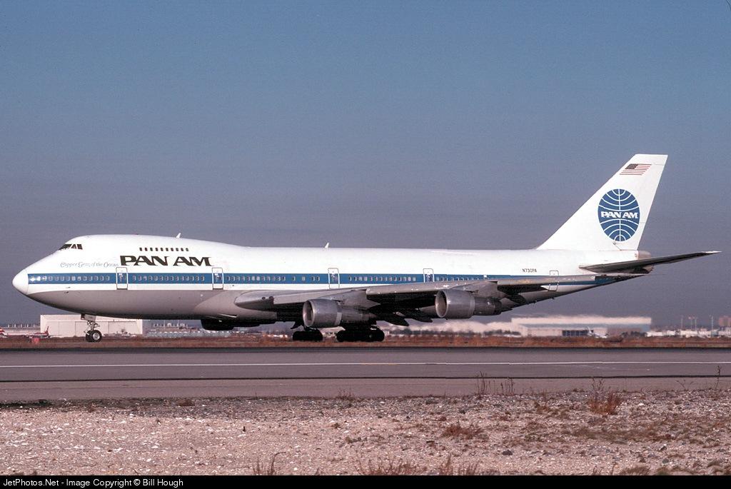N730PA - Boeing 747-212B - Pan Am