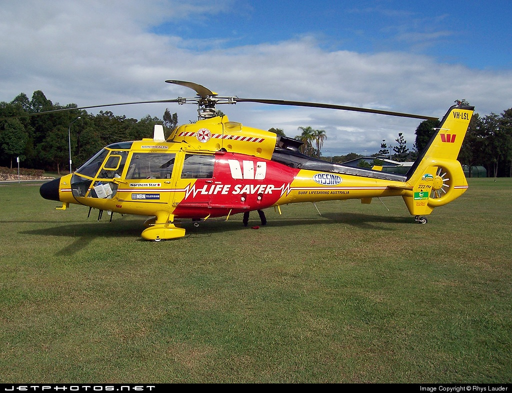 VH-LSL - Eurocopter SA 365C1 Dauphin - Northern Region SLSA Helicopter Rescue