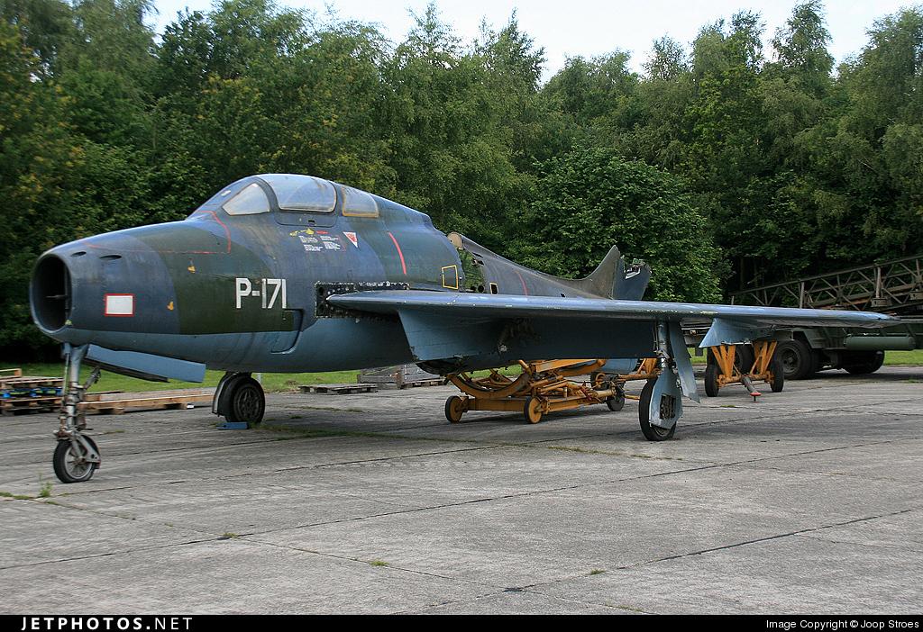 P-171 - Republic F-84F Thunderstreak - Netherlands - Royal Air Force