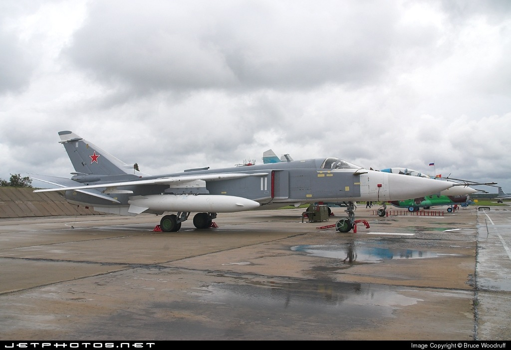 11 - Sukhoi Su-24M2 Fencer - Russia - Air Force