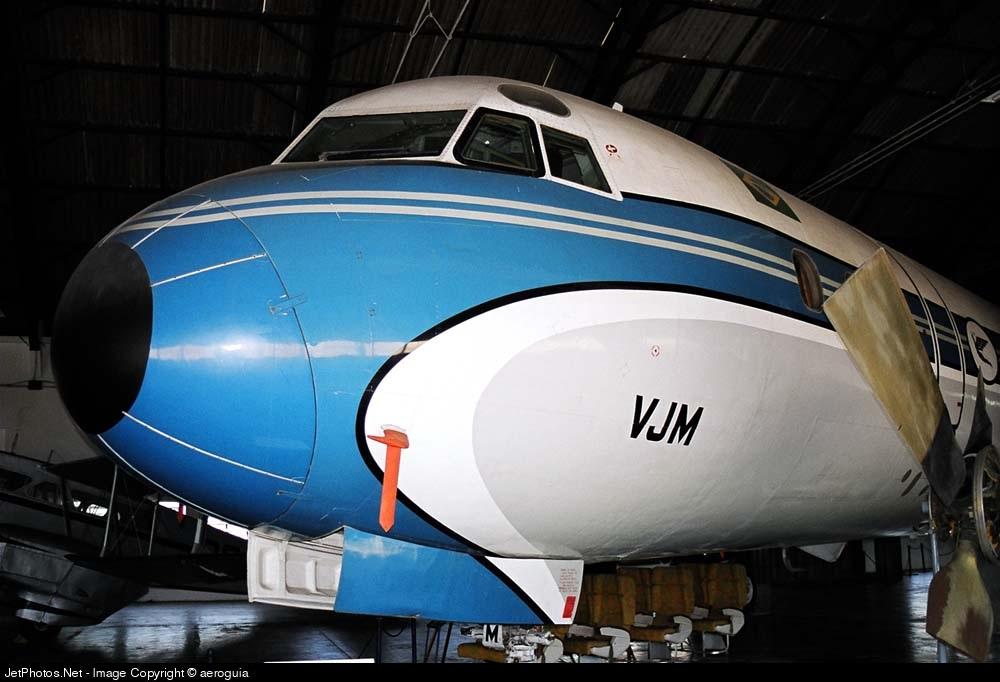 PP-VJM - Lockheed L-188A Electra - Varig
