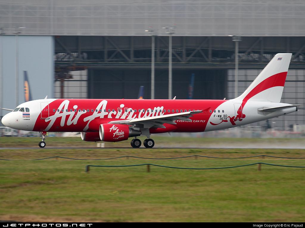 F-WWBD - Airbus A320-216 - Thai AirAsia