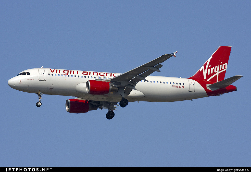 N632VA - Airbus A320-214 - Virgin America