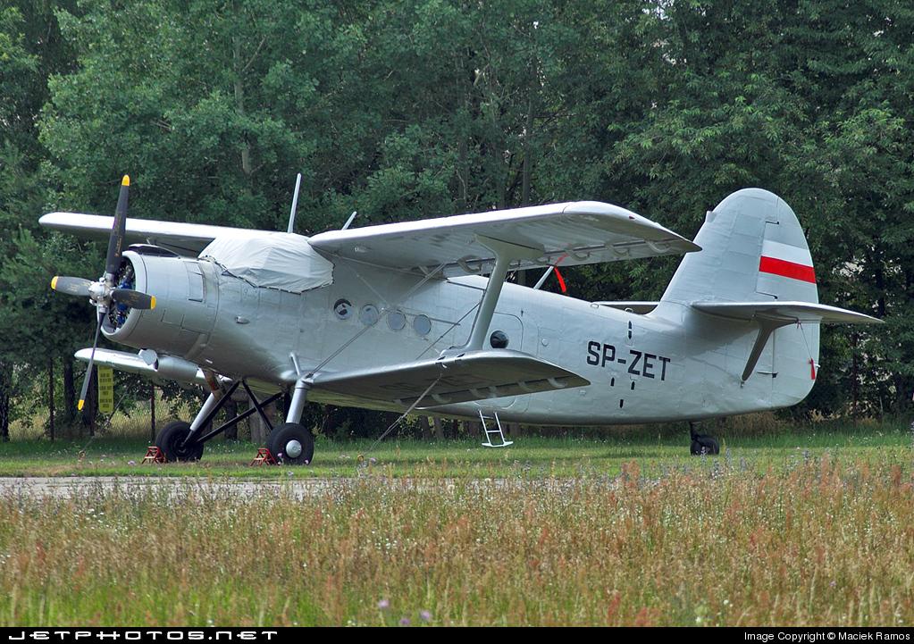 SP-ZET - Antonov An-2 - Private