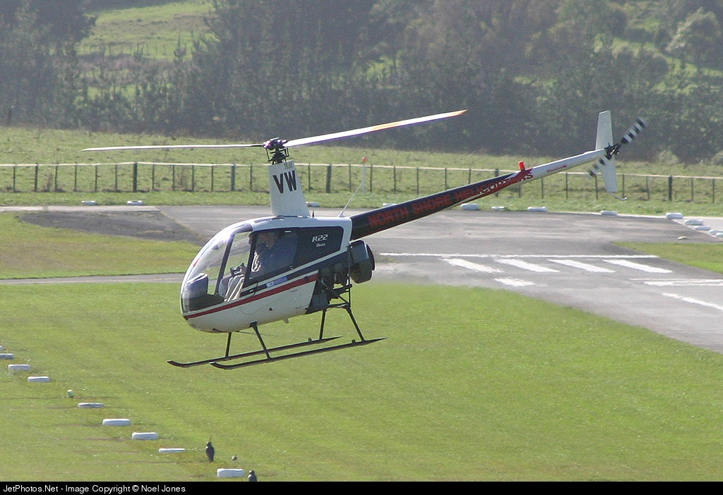 ZK-HVW - Robinson R22 Beta - North Shore Helicopters