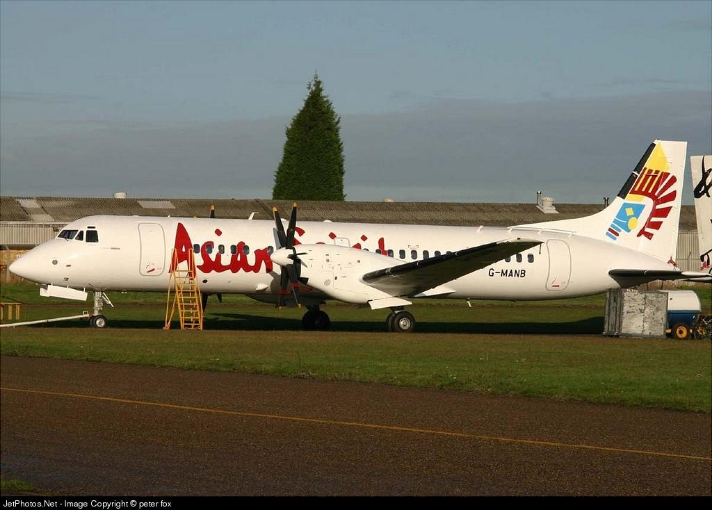 G-MANB - British Aerospace ATP - Asian Spirit