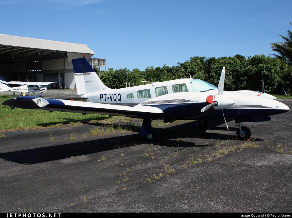 PT-VQQ - Embraer EMB-810D Seneca III - Private