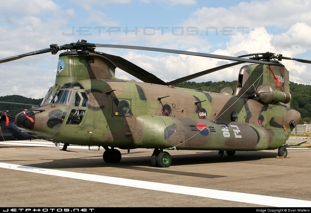 19-084 - Boeing HH-47D Chinook - South Korea - Air Force