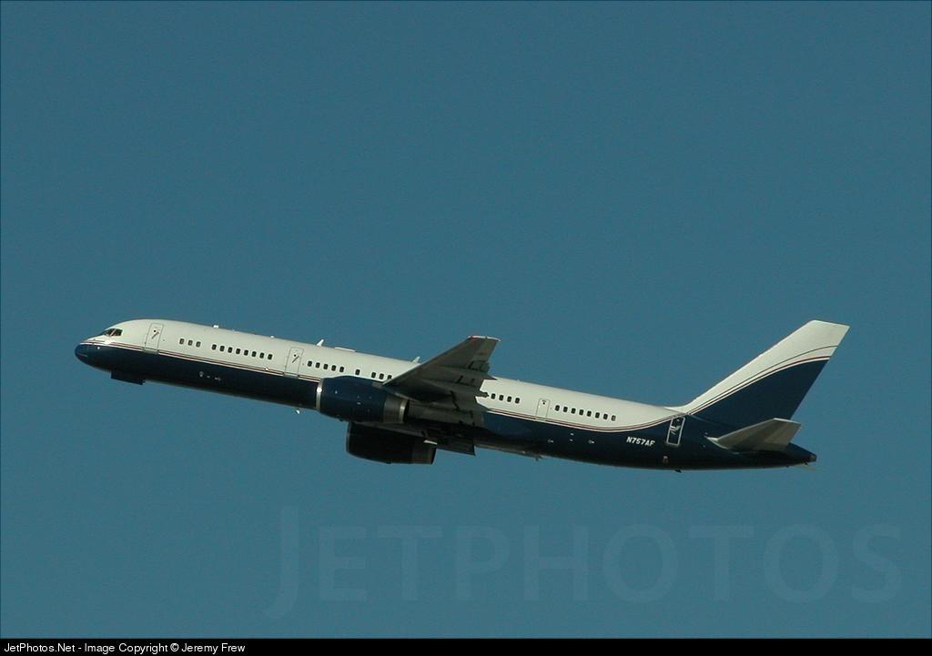 N757AF - Boeing 757-2J4(ER) - Vulcan Aircraft