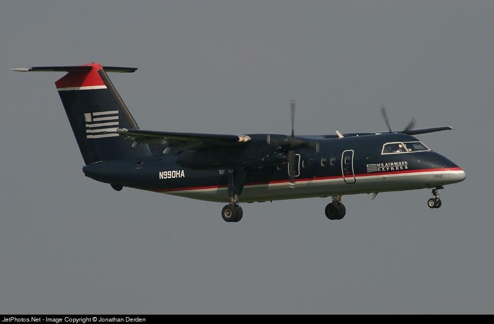 N990HA - Bombardier Dash 8-Q202 - US Airways Express (Piedmont Airlines)