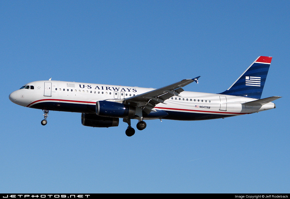 N647AW - Airbus A320-232 - US Airways (America West Airlines)