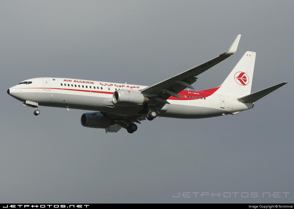 7T-VKA - Boeing 737-8D6 - Air Algérie