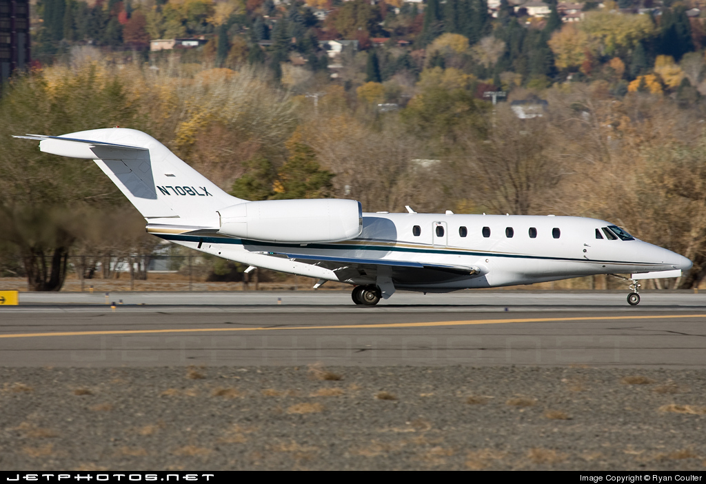 N708LX - Cessna 750 Citation X - Flight Options