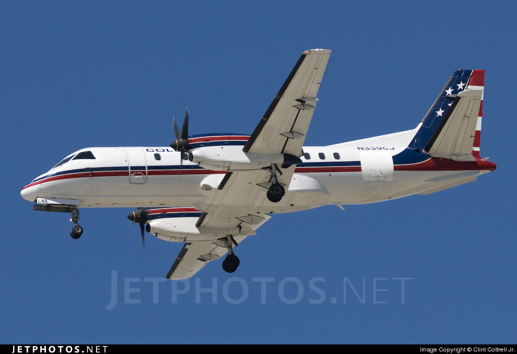 N339CJ - Saab 340B - Colgan Air