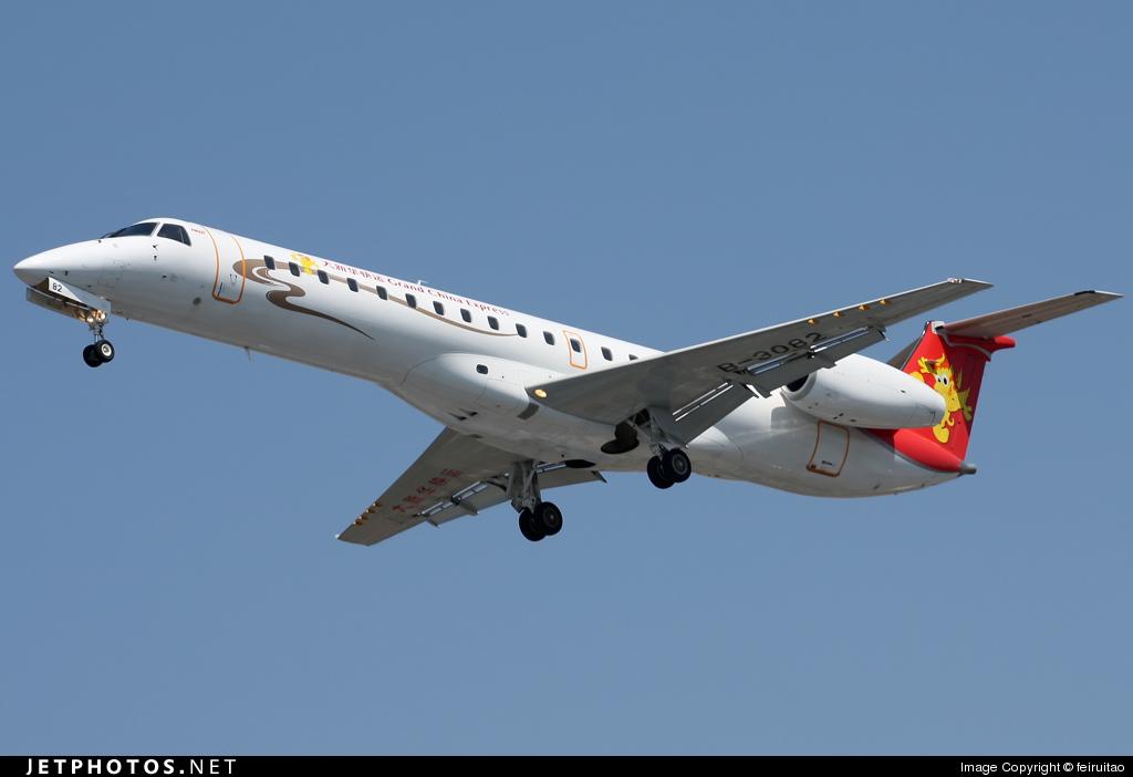 B-3082 - Embraer ERJ-145LI - Grand China Express
