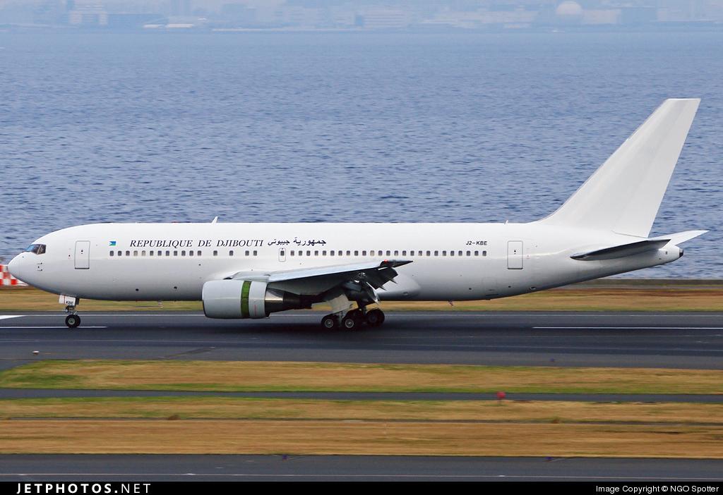 J2-KBE | Boeing 767-216(ER) | Djibouti - Government | NGO Spotter | JetPhotos