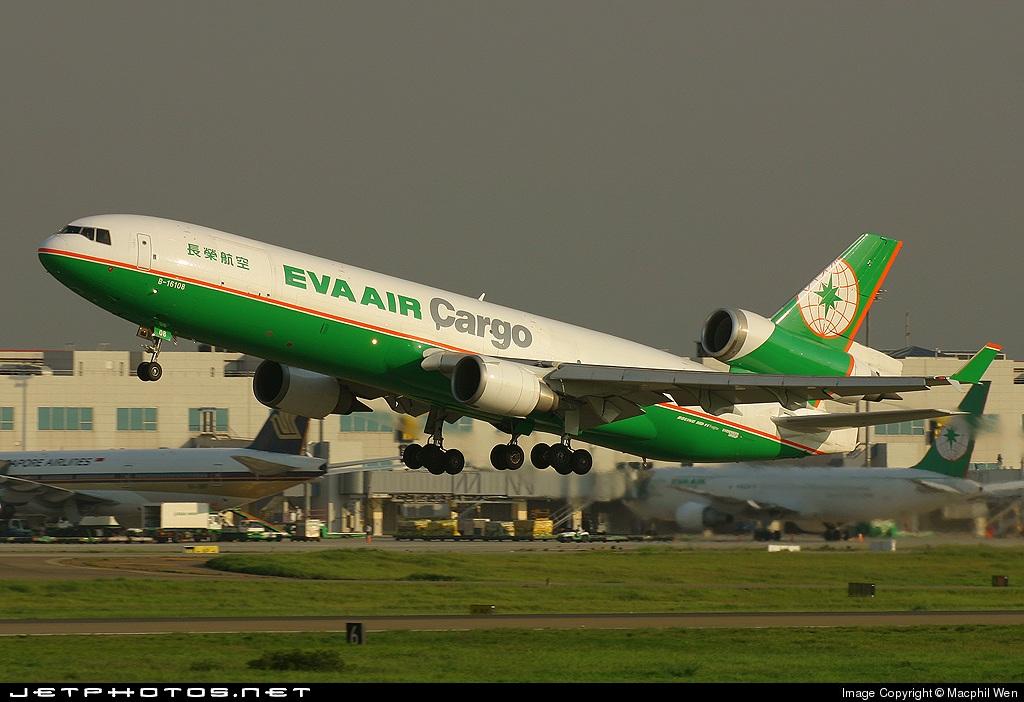 B-16108 - McDonnell Douglas MD-11(F) - Eva Air Cargo