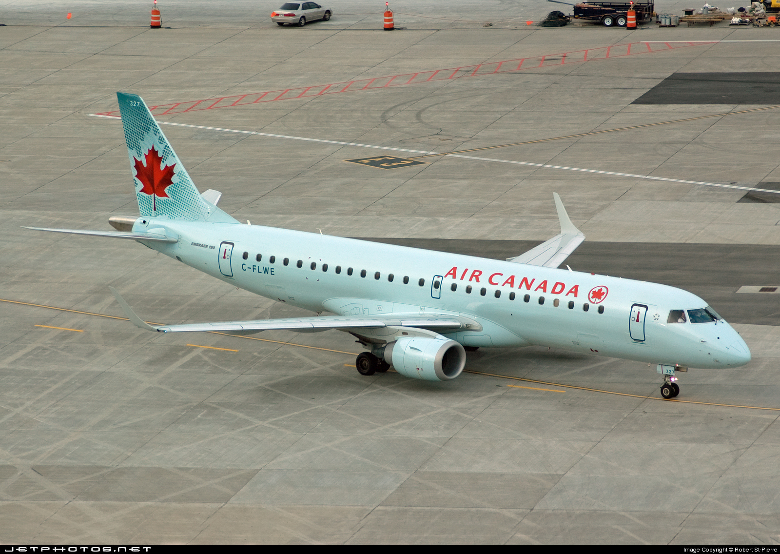 C-FLWE - Embraer 190-100IGW - Air Canada