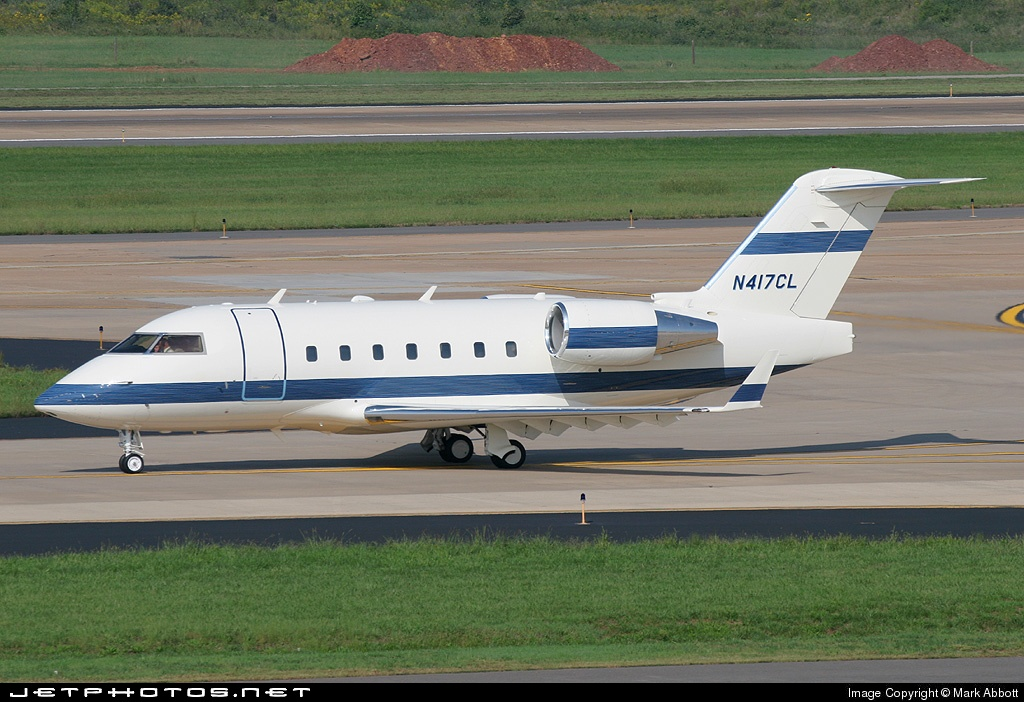 N417CL - Bombardier CL-600-2B16 Challenger 601-3A - Private