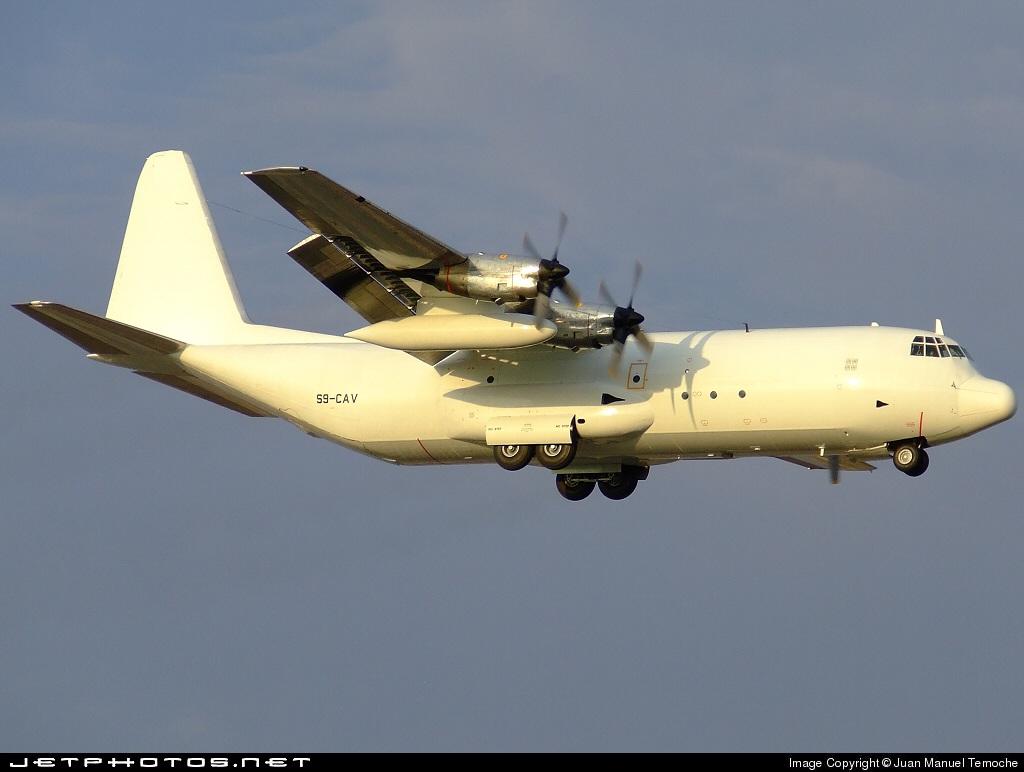 S9-CAV - Lockheed L-100-30 Hercules - Transafrik International