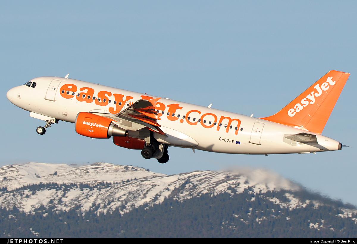 G-EZFF - Airbus A319-111 - easyJet