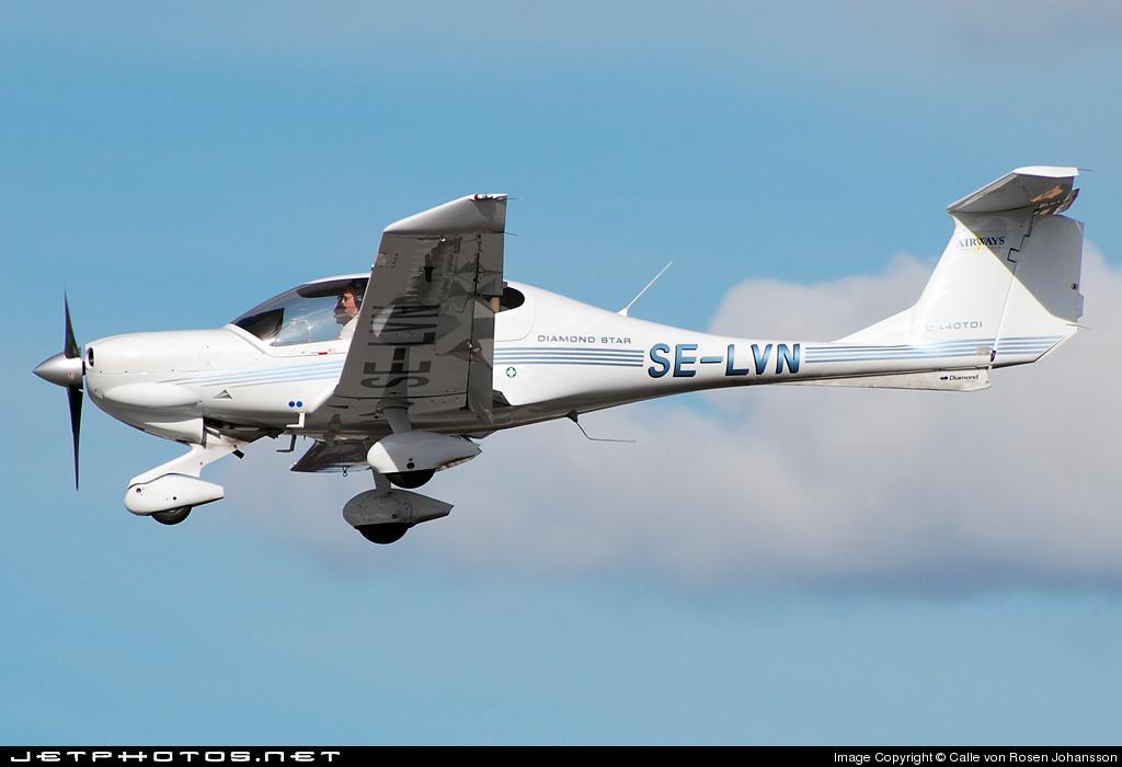 SE-LVN - Diamond DA-40D Diamond Star - Airways Flygutbidning
