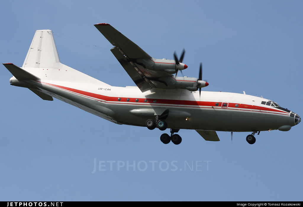 UR-CAK - Antonov An-12BK - Meridian Aviation