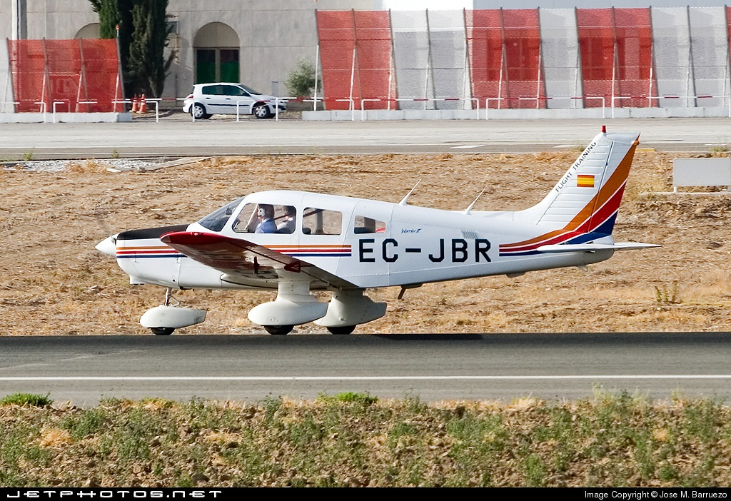 EC-JBR - Piper PA-28-161 Warrior II - Flight Training Europe