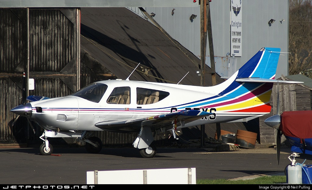 G-BFXS - Rockwell Commander 114 - Private