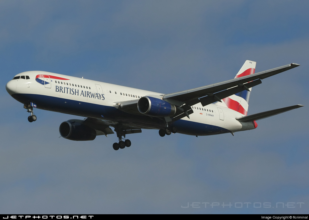G-BNWW - Boeing 767-336(ER) - British Airways