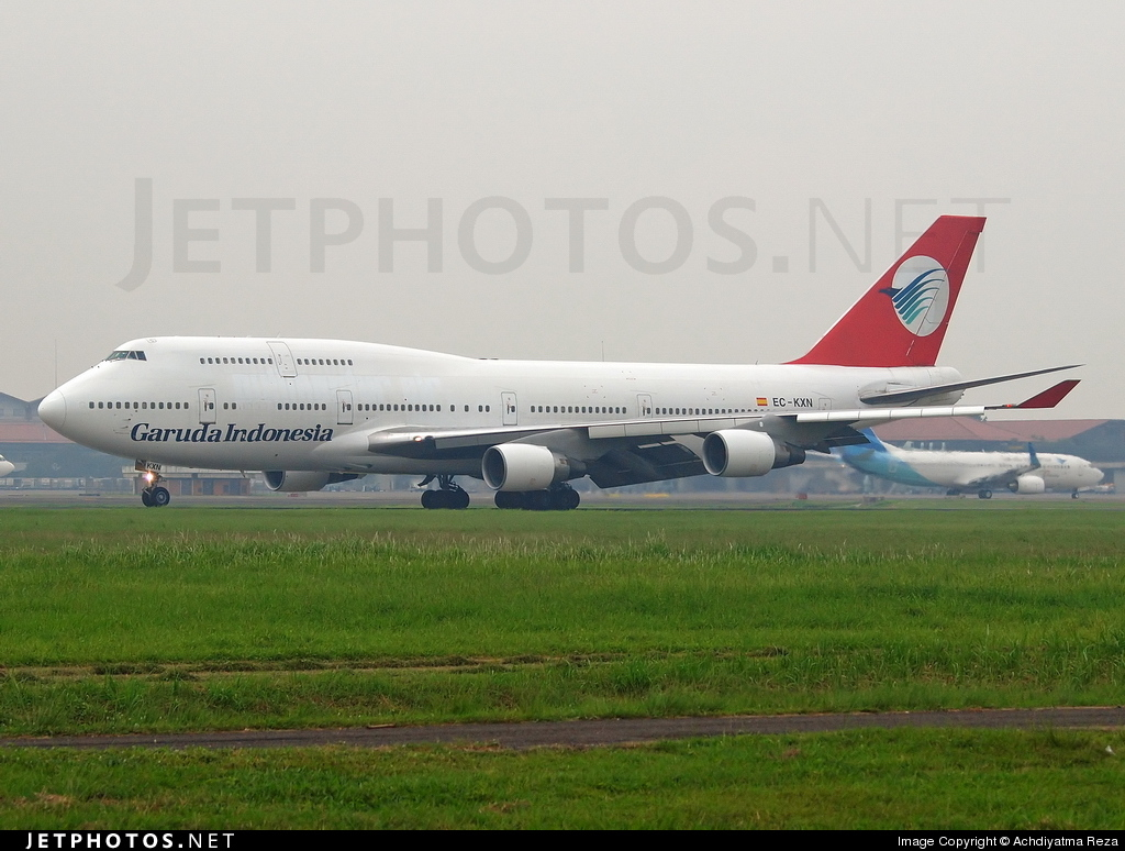 EC-KXN - Boeing 747-4H6 - Garuda Indonesia (Pullmantur Air)