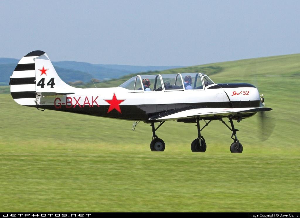 G-BXAK - Yakovlev Yak-52 - Private