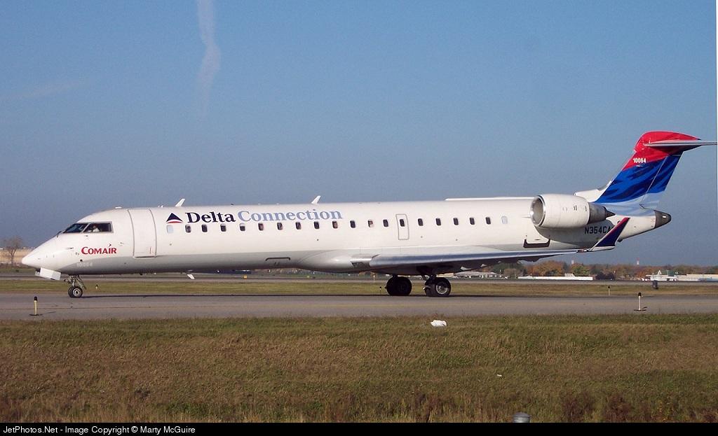 N354CA - Bombardier CRJ-701ER - Delta Connection (Comair)