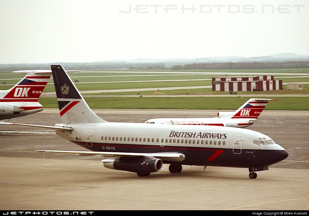 G-BKYK - Boeing 737-236(Adv) - British Airways