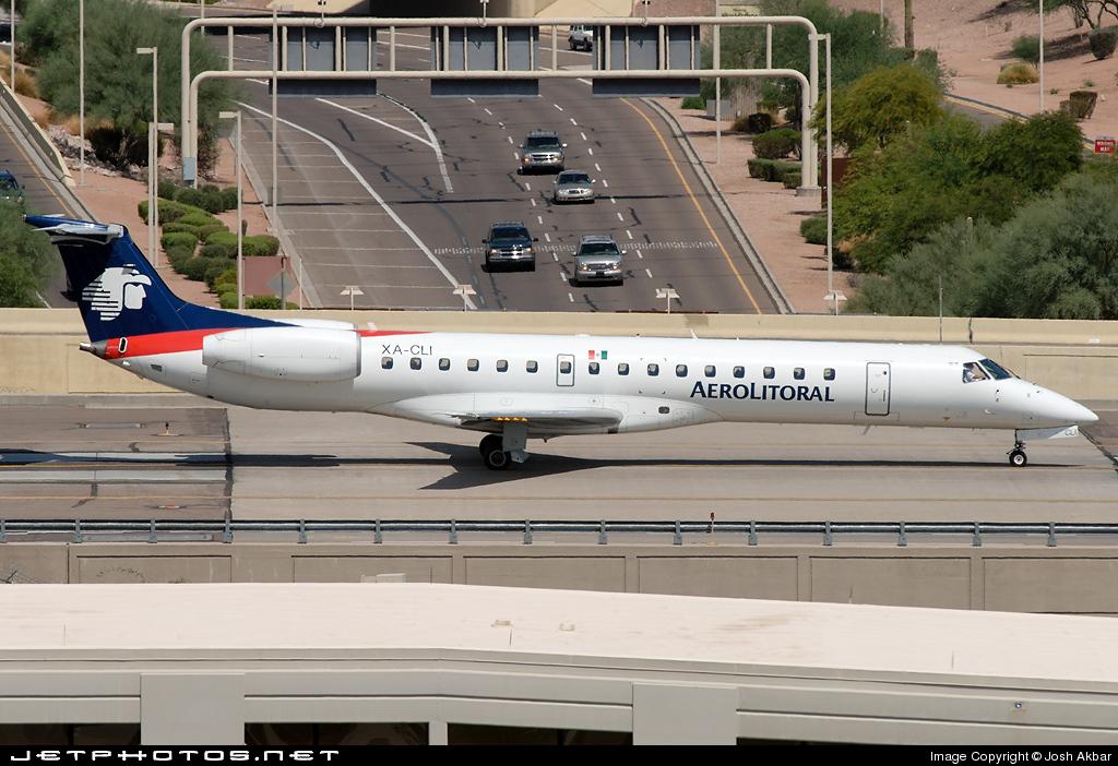 XA-CLI - Embraer ERJ-145LR - Aerolitoral