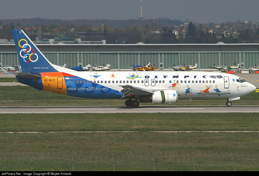 SX-BKD - Boeing 737-484 - Olympic Airlines