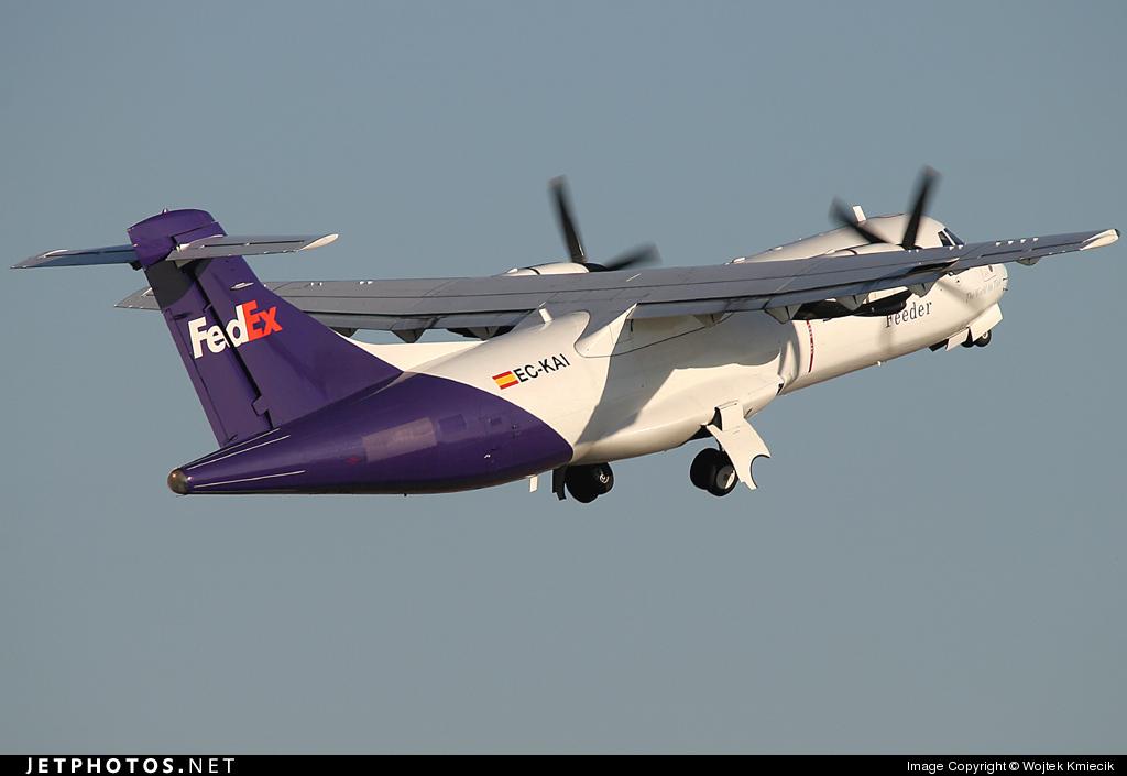 EC-KAI - ATR 42-300(F) - FedEx Feeder (Swiftair)