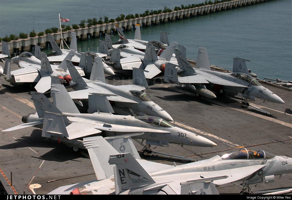 CVN-72 - Aircraft Carrier - Ramp