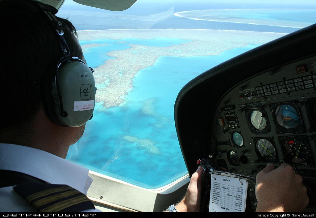 VH-PGA - Cessna 208 Caravan - Air Whitsunday Seaplanes
